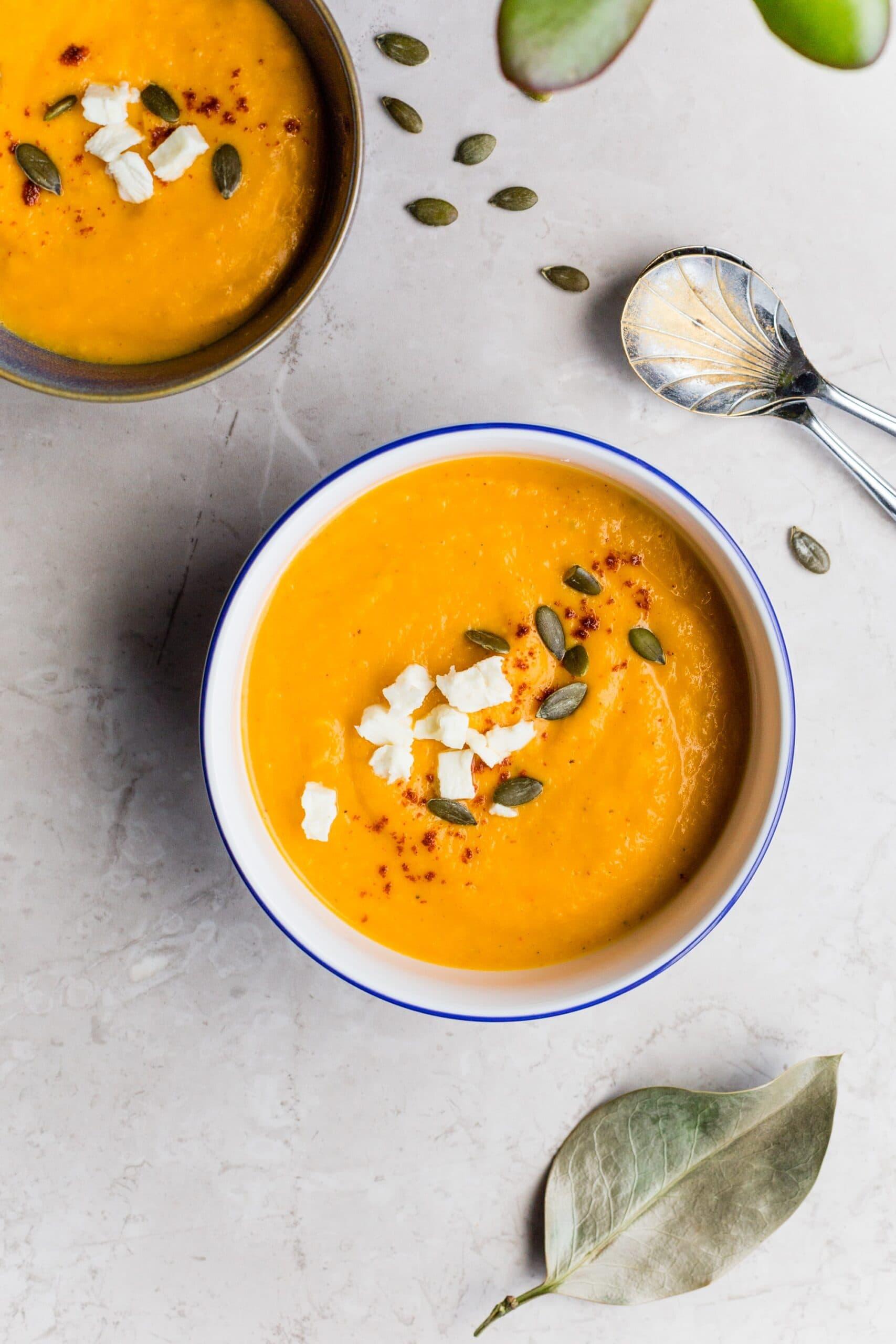 carrot ginger immunity soup