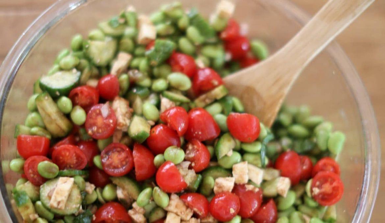Edamame Chopped Salad