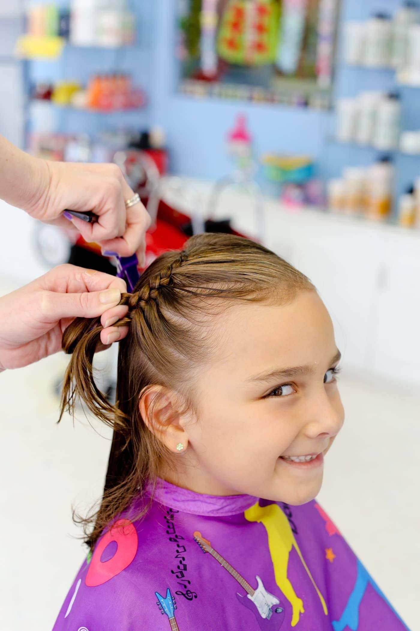 bambinos, a full service children's salon