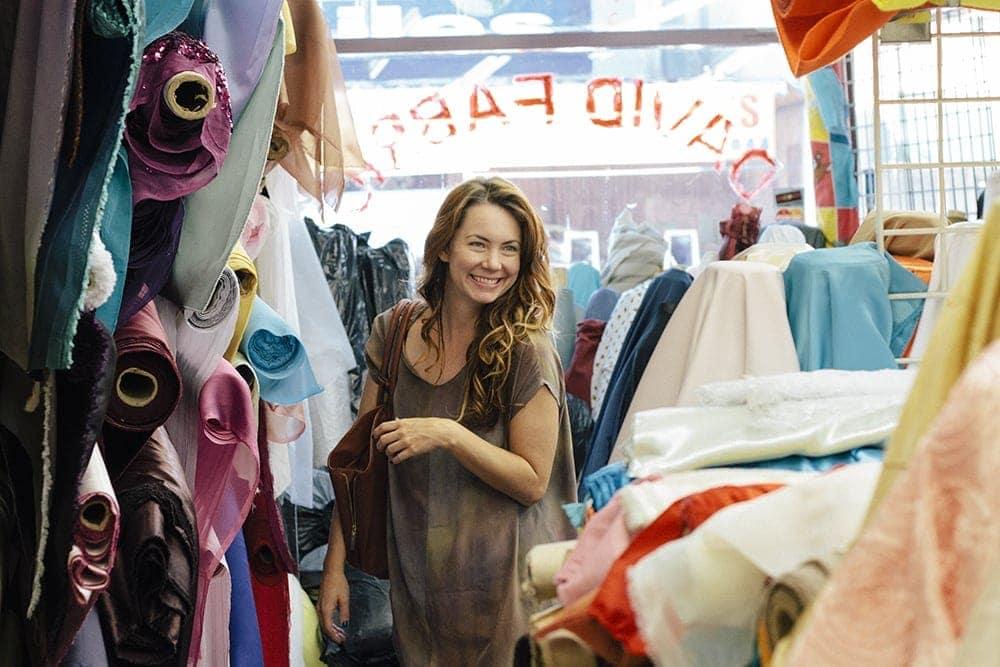 haley solar shopping for fabrics