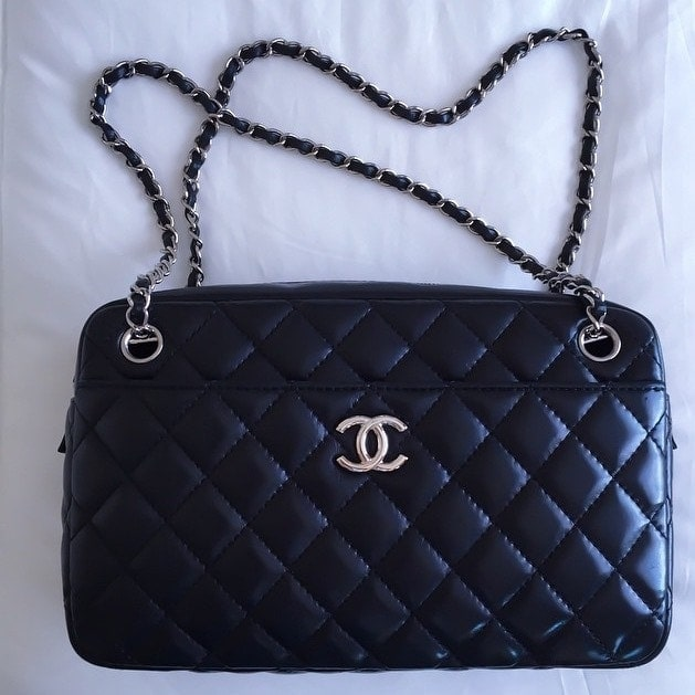 f0386bee6cf2 This post caught my eye not because it s a fabulous classic Chanel bag