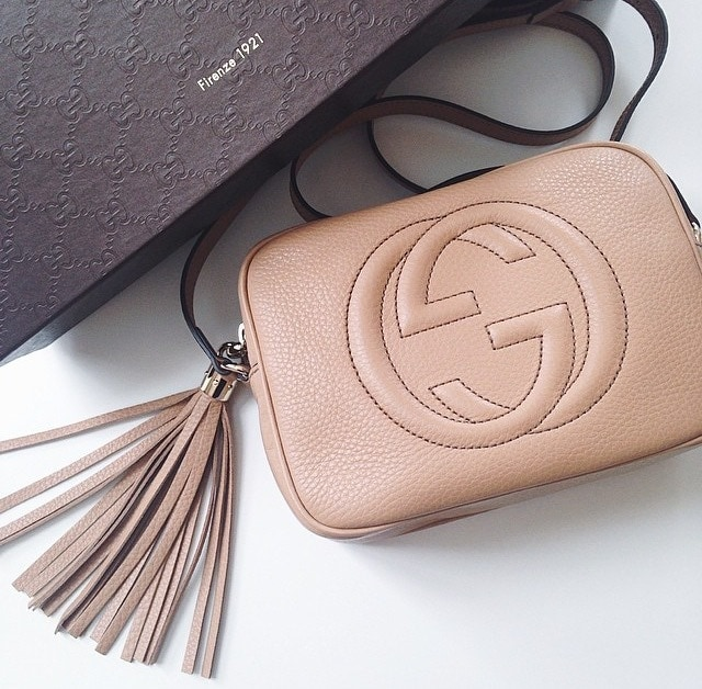 798d4329a6a69 I just love this fabulous Gucci bag! What a great purse. Mom was certainly  thankful for her push present. (via  somewherelately)