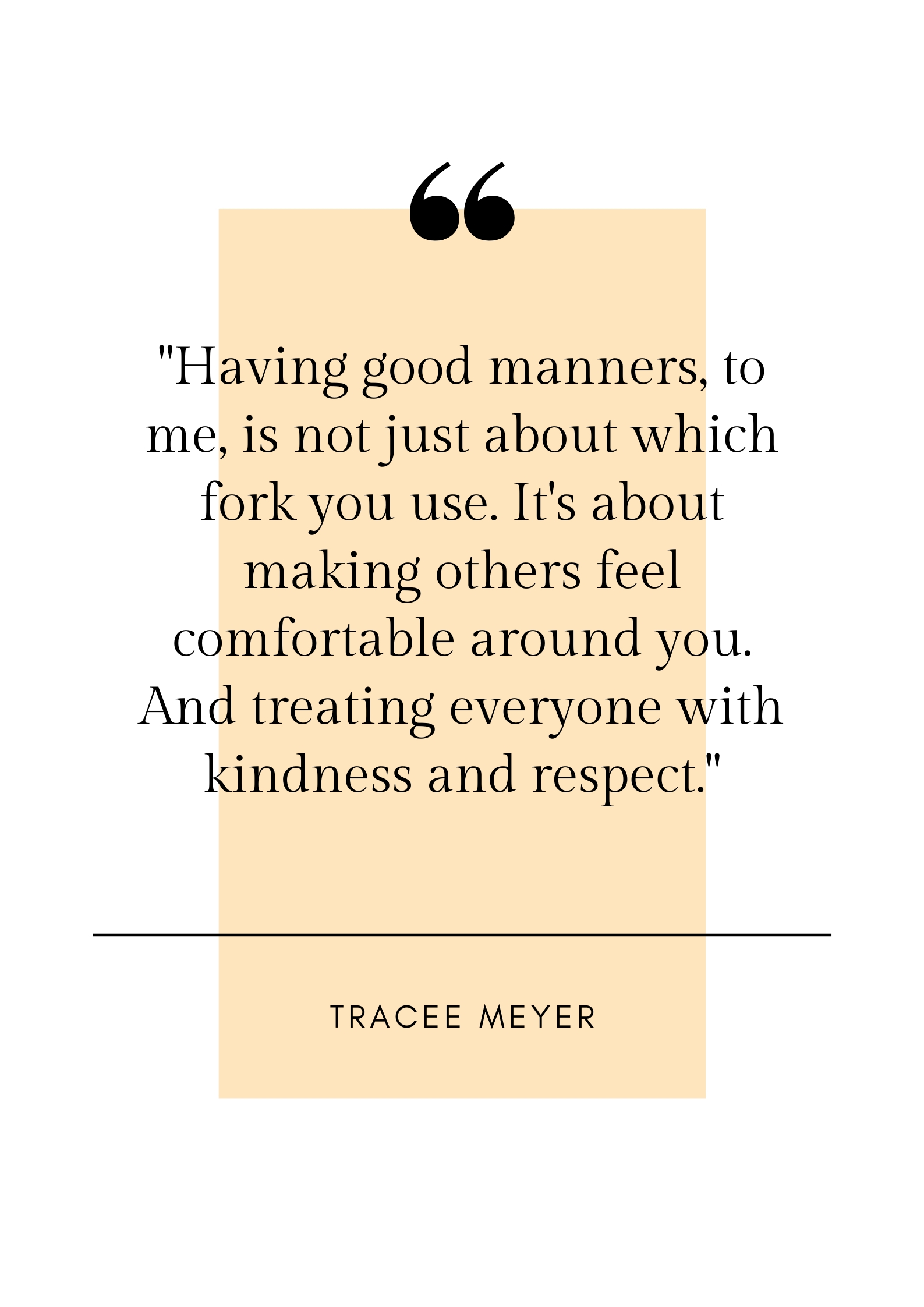 quote on manners