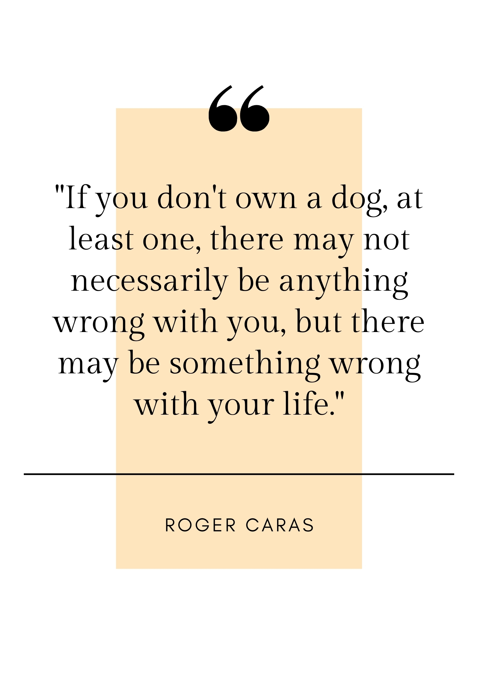 roger caras quote