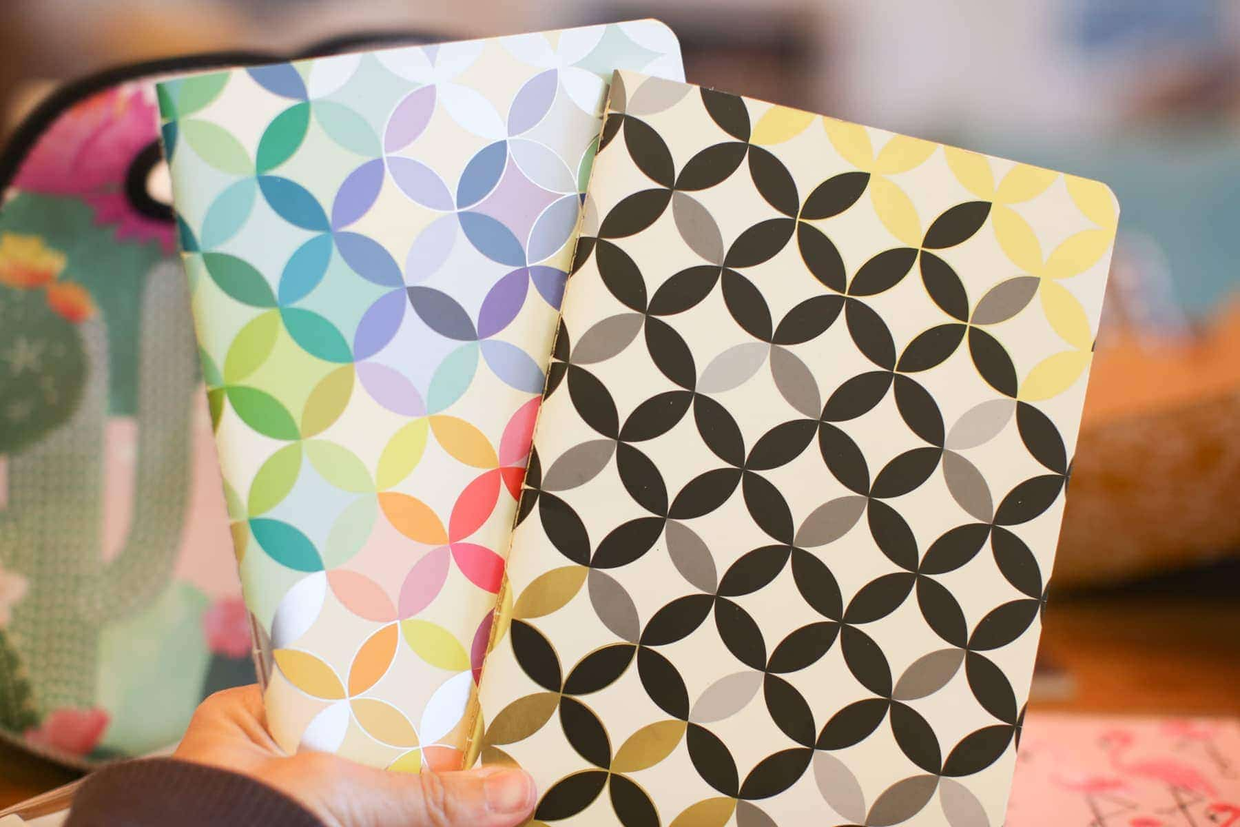 colorful planners