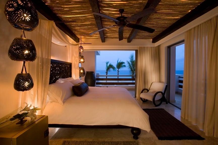 penthouse bedroom - cabo azul resort