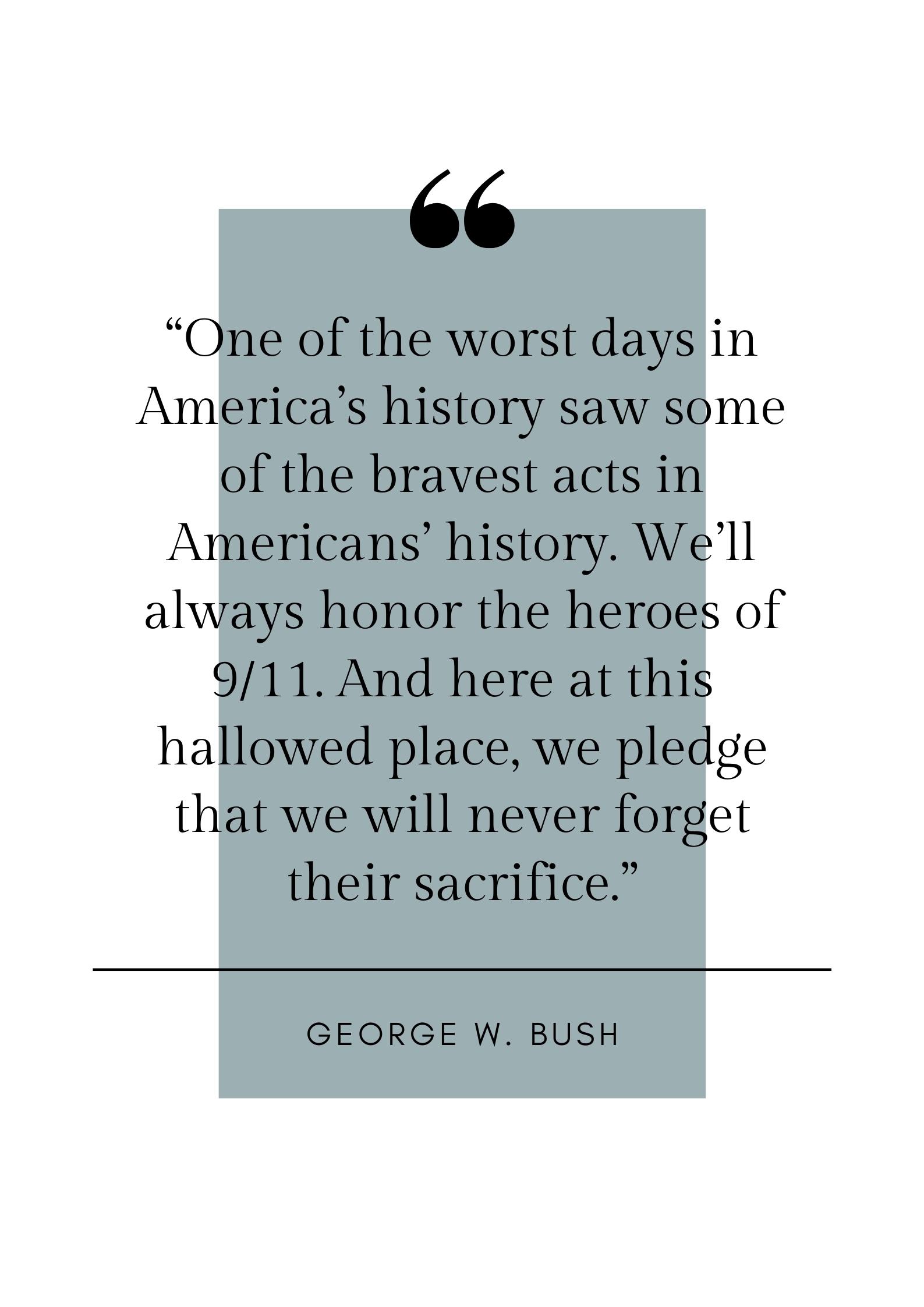 george w bush quote