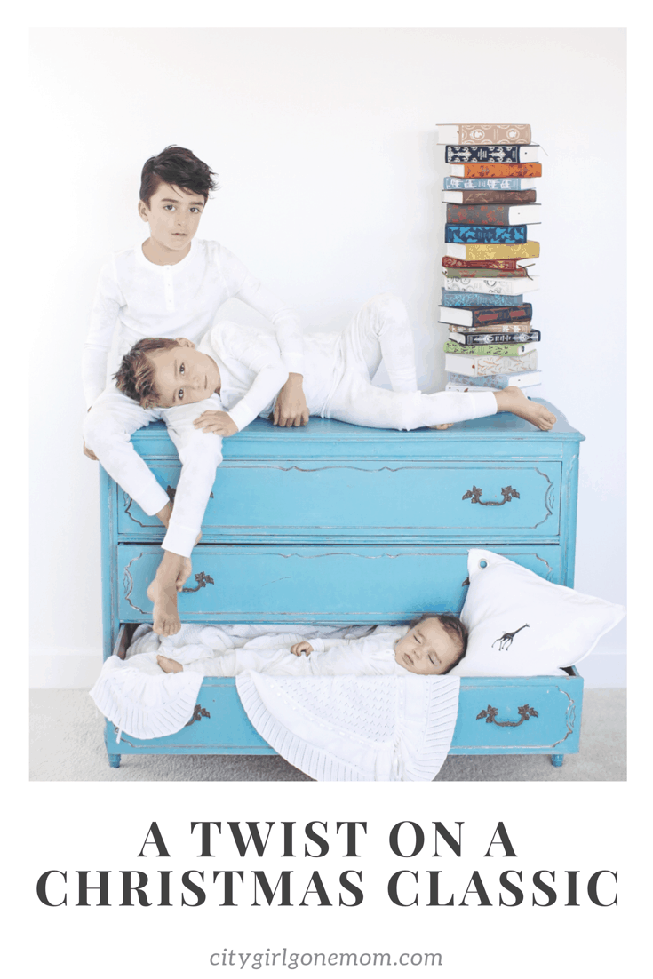 boys on dresser