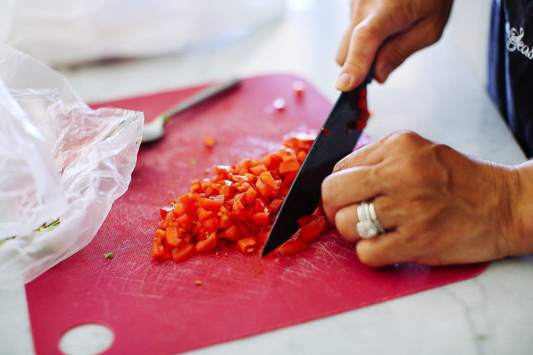 diced tomatos