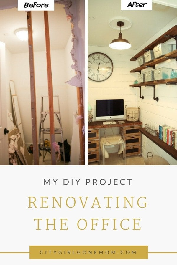 renovating home office
