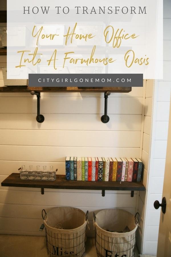 transform home closet into office