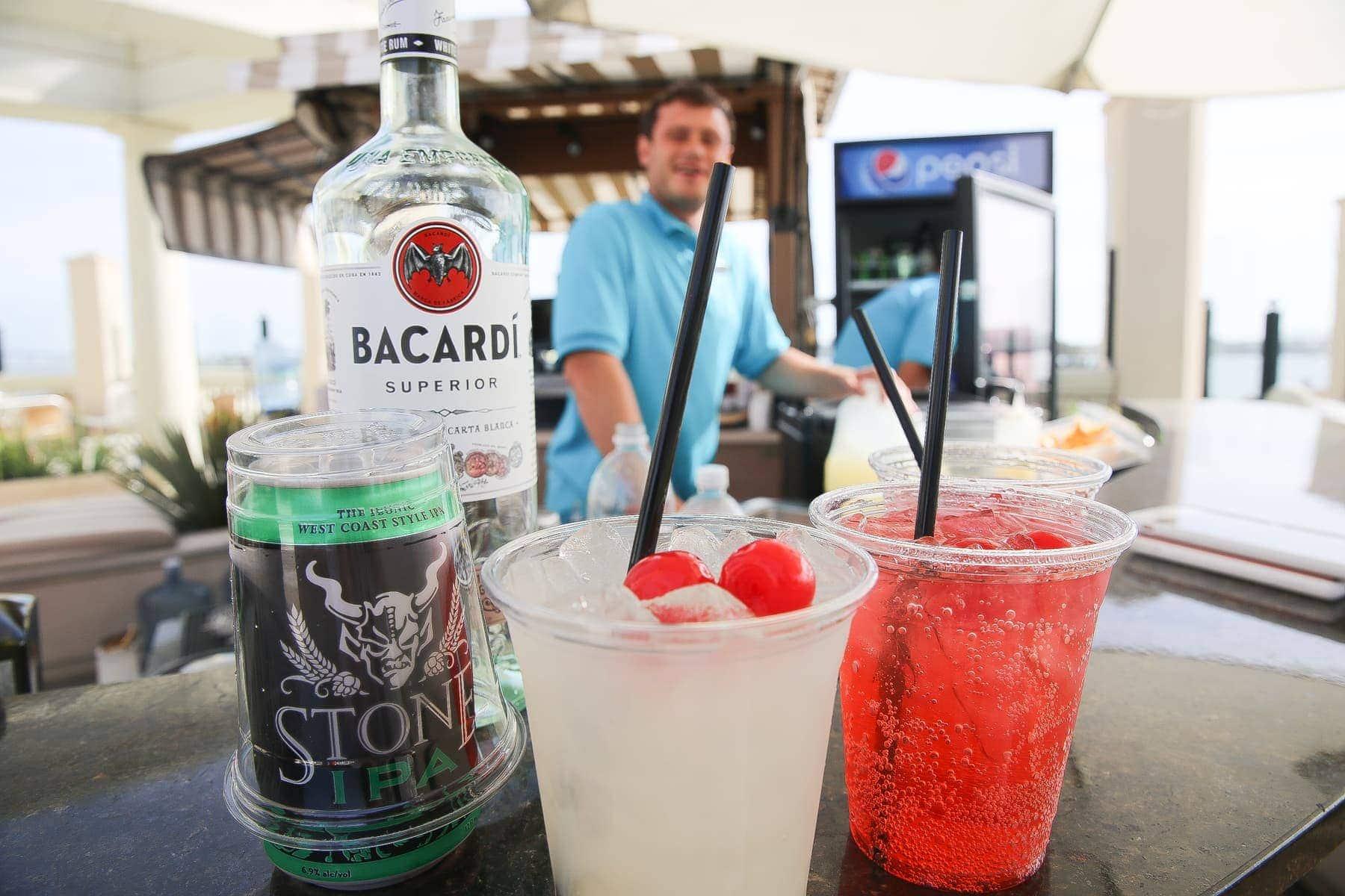 drinks bar