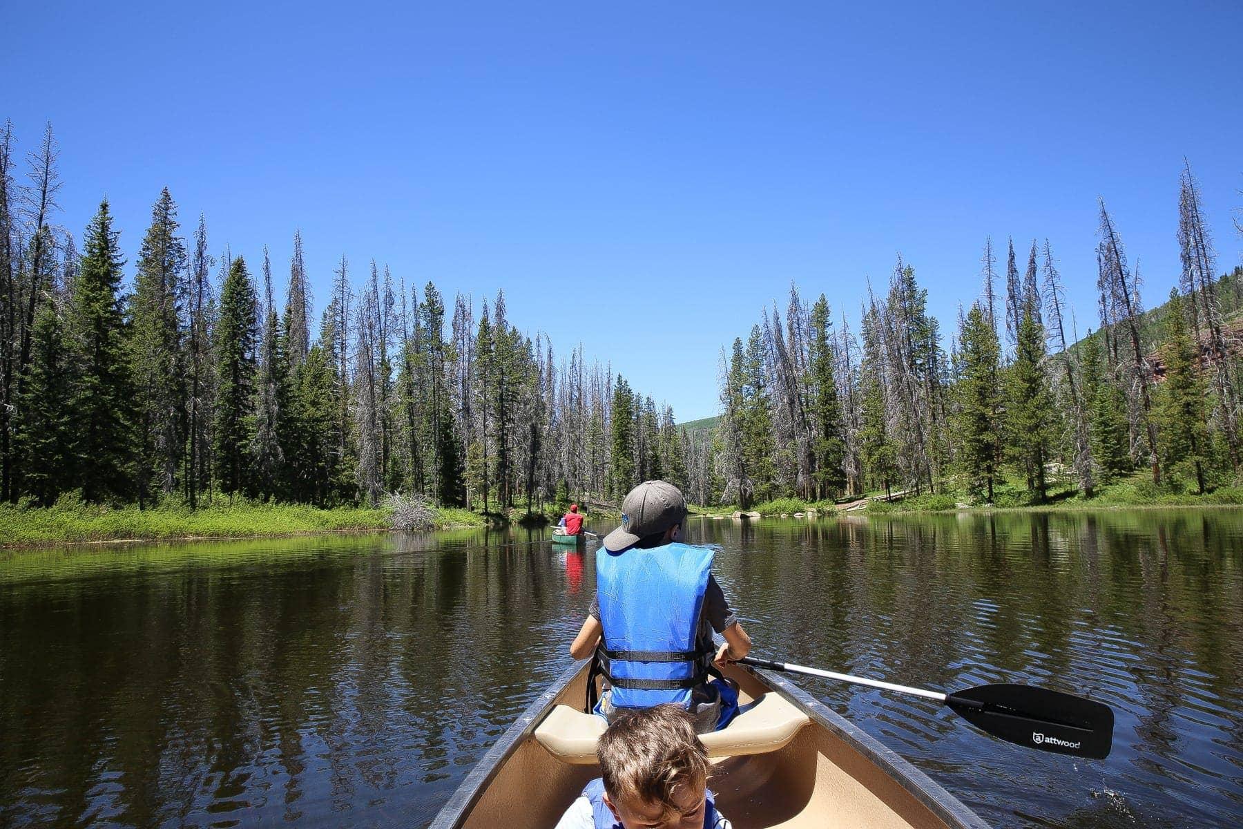 river canoe