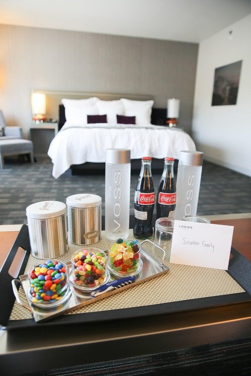 hotel treats