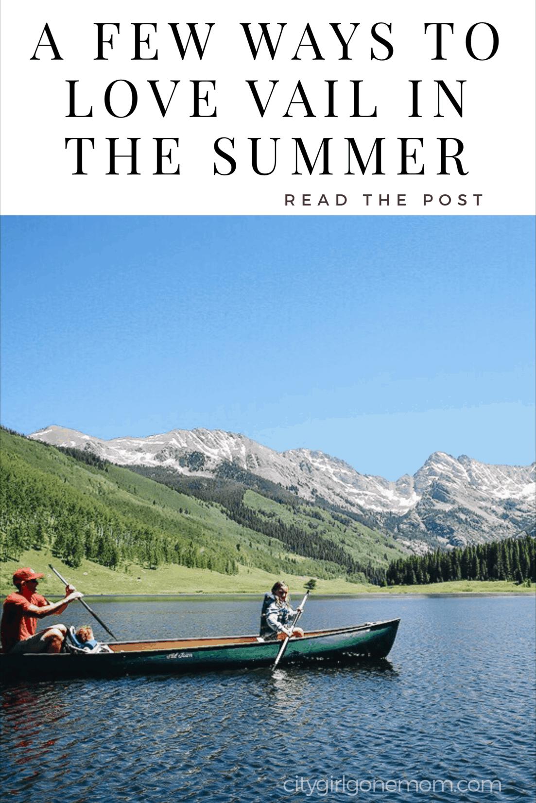 vail summer