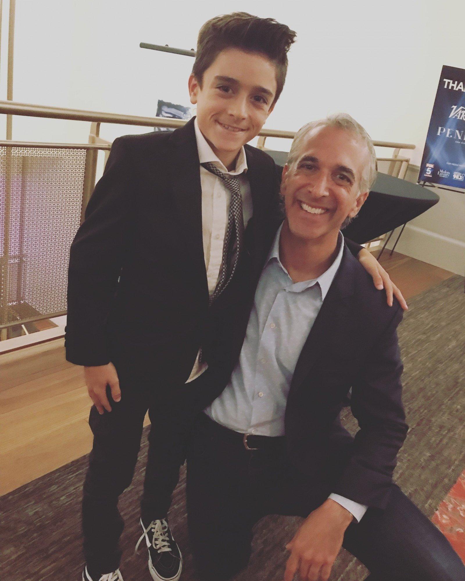 Jackson and filmmaker