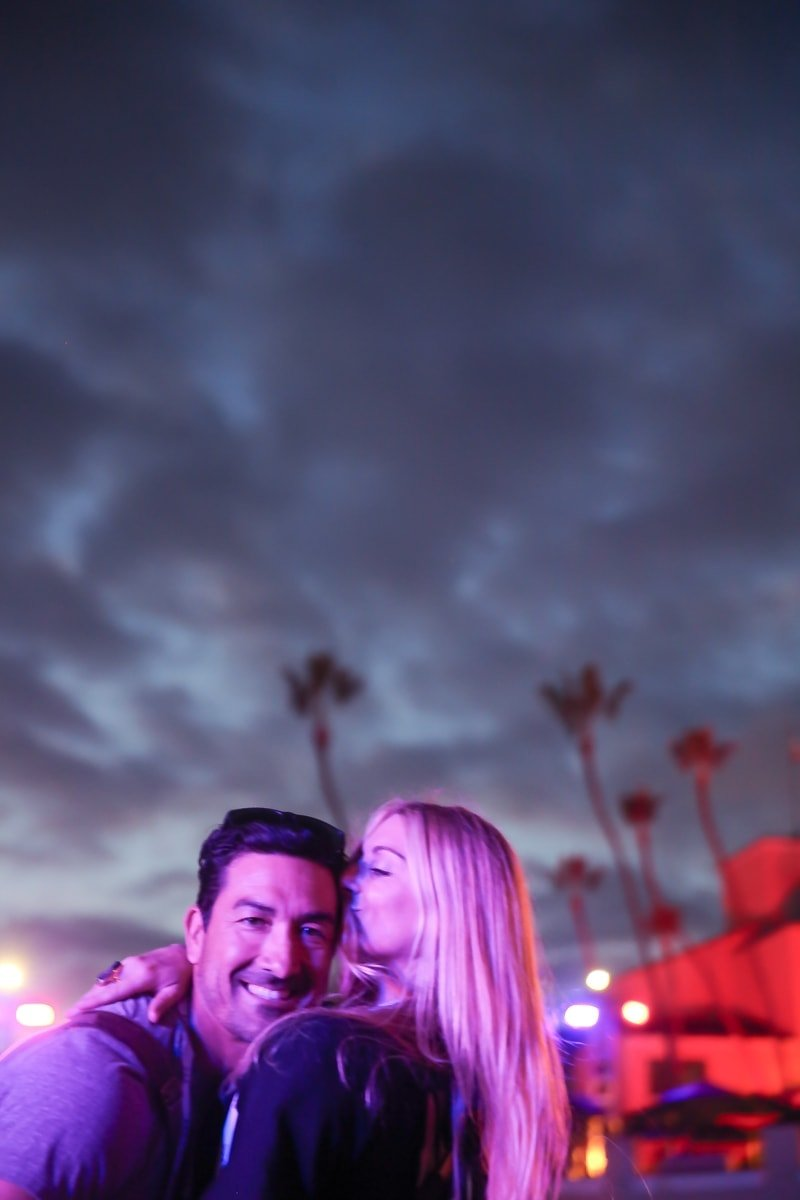 Danielle and Bobby at KAABOO 2017