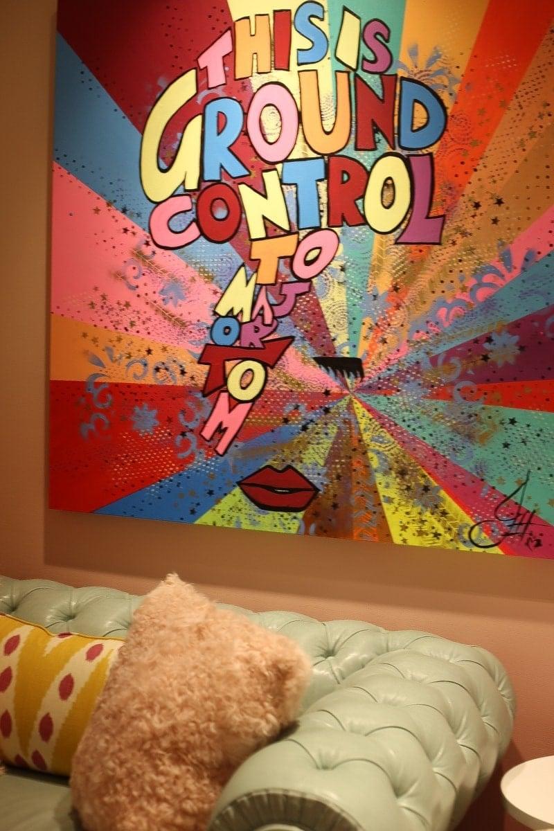 Artsy canvas