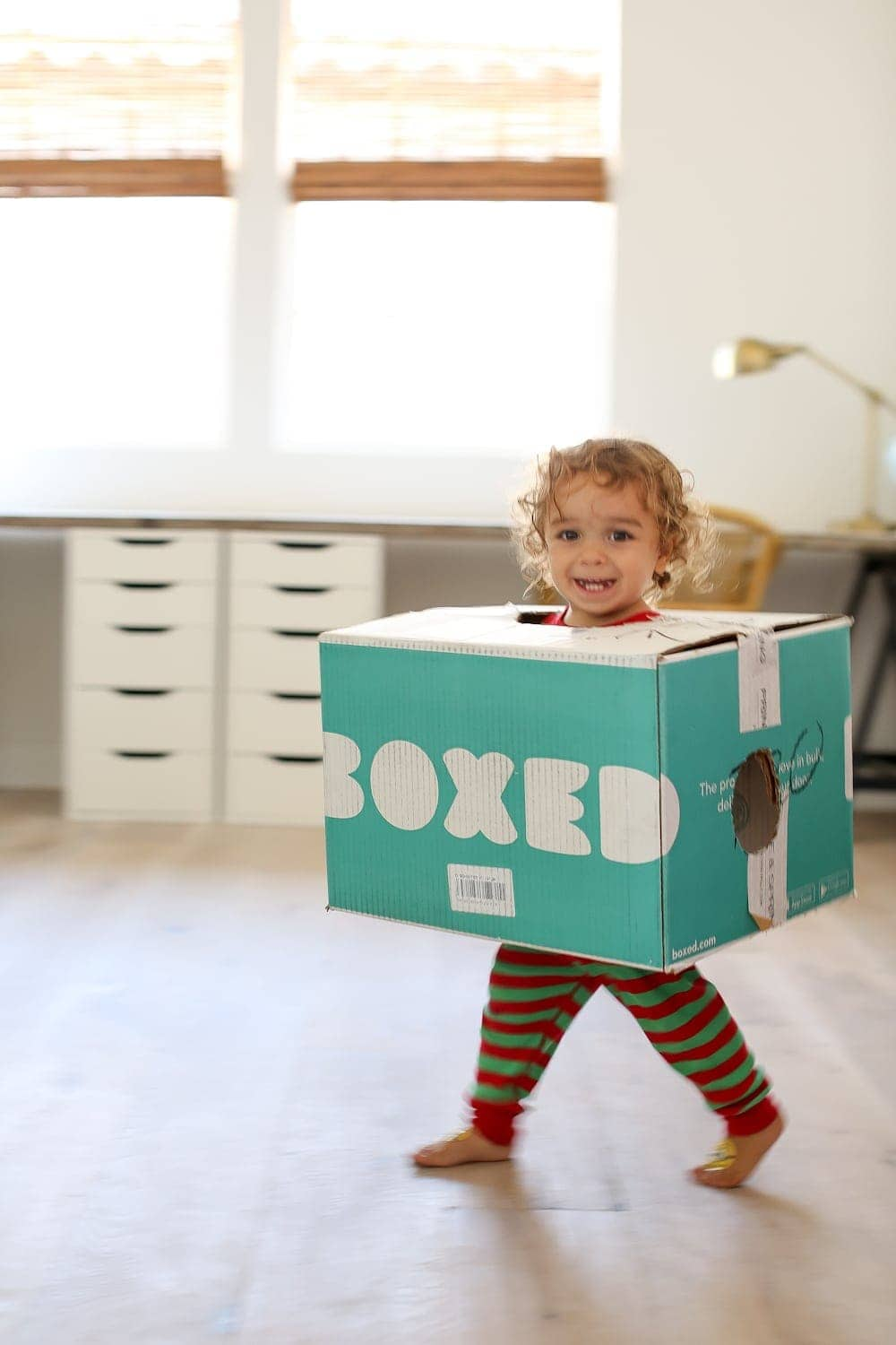 Baby in box