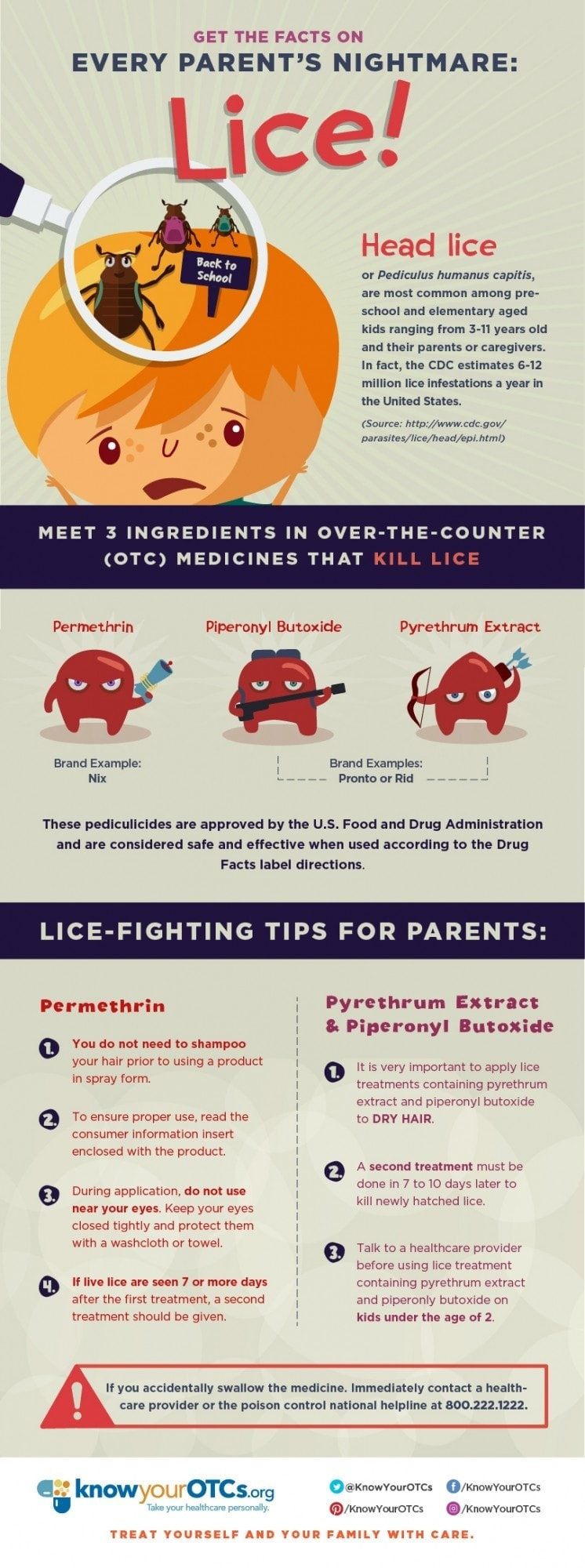 Lice nightmare