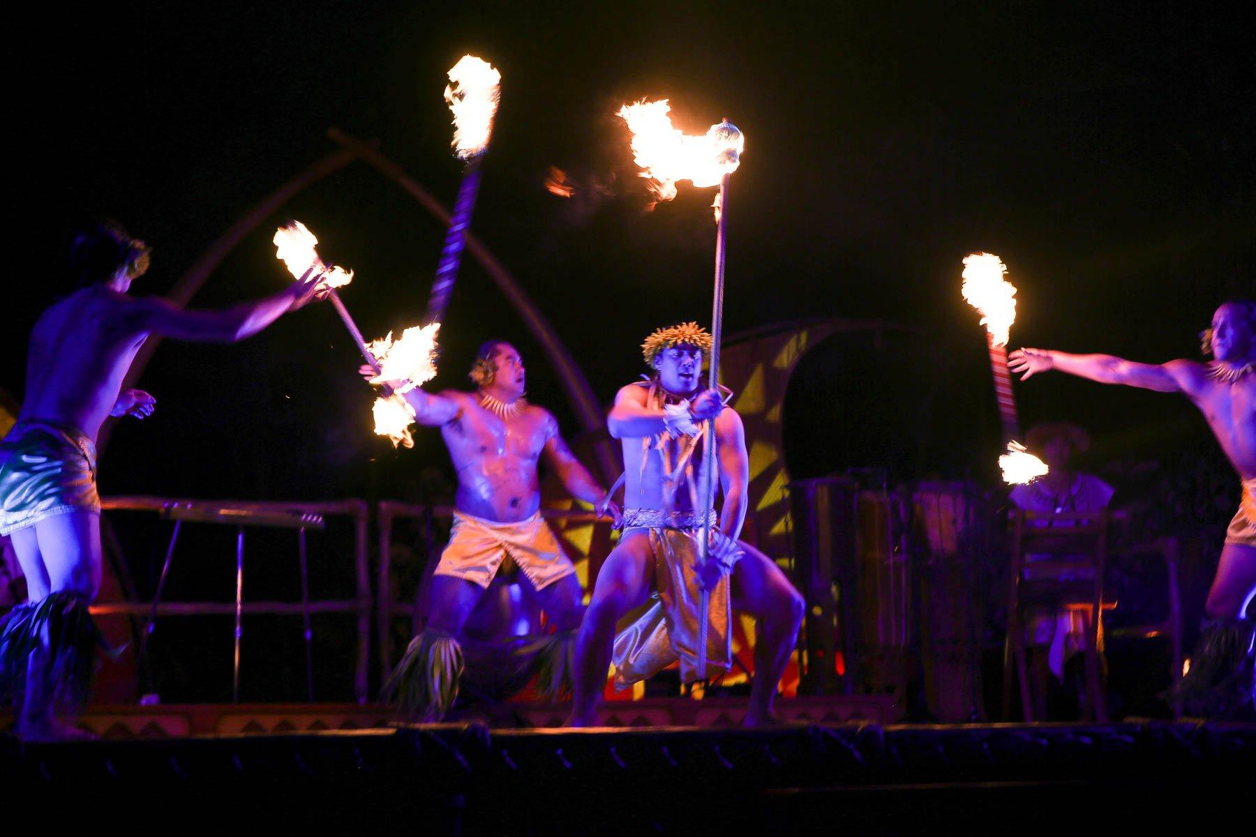 fire Luau