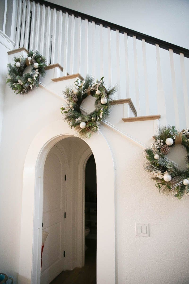 Homemade wreaths