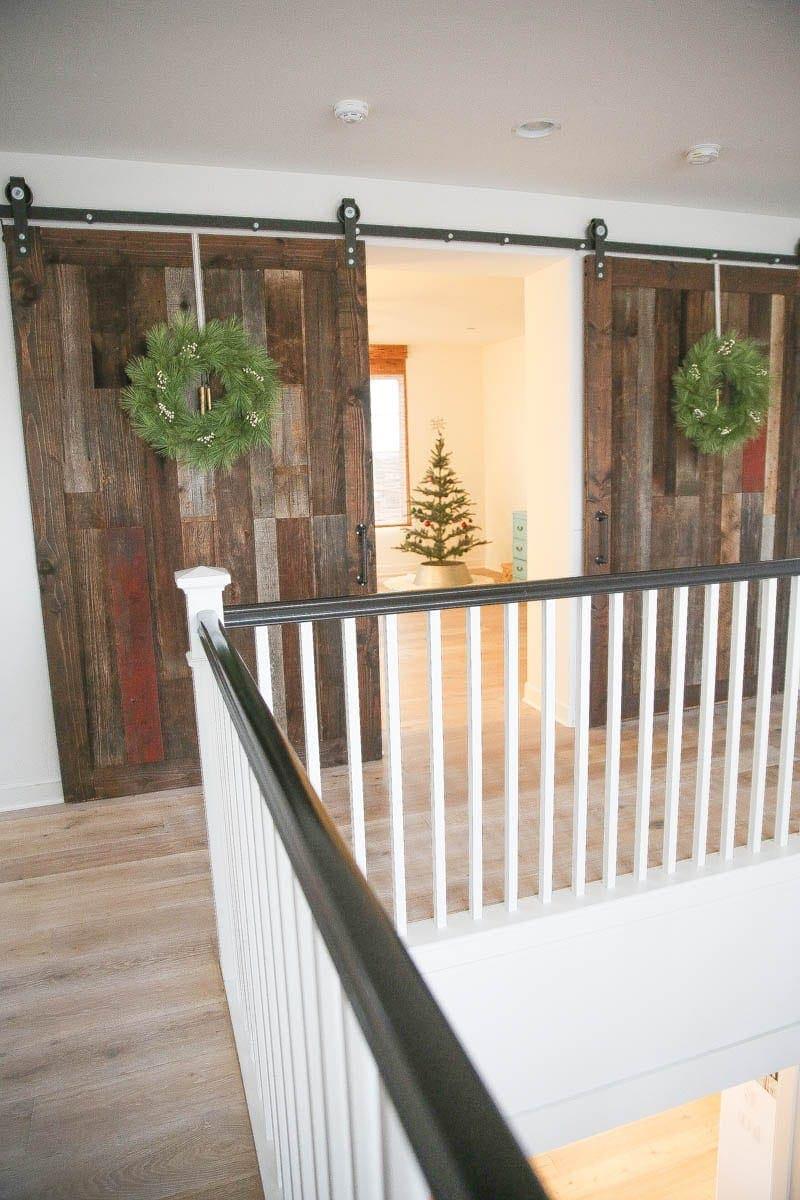 Wreaths for the barn doors