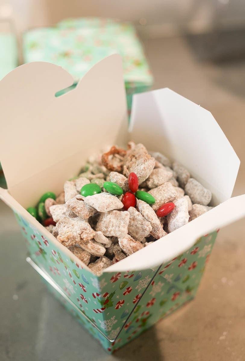 Christmas snacks Reindeer Chow