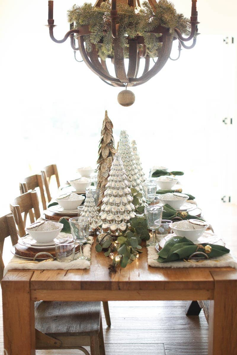 It's all about layers to create the perfect festive table