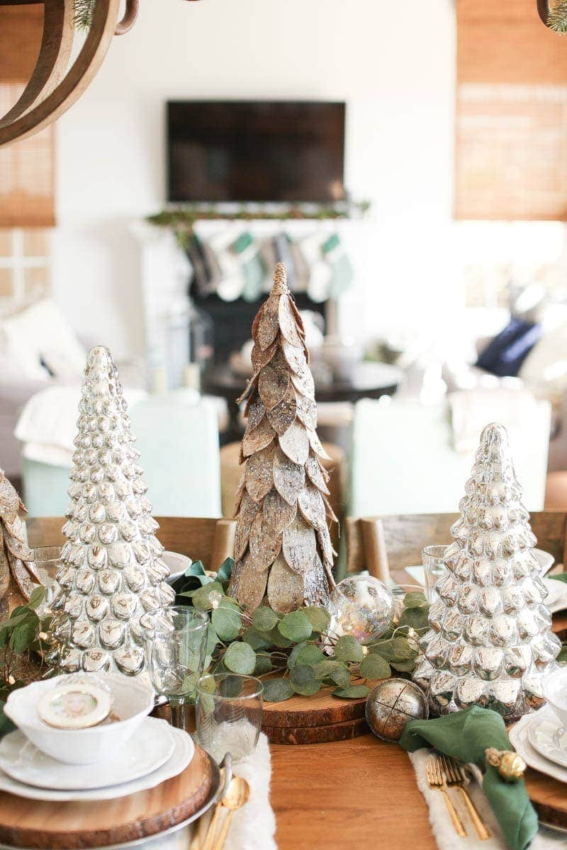 Farm style holiday decor