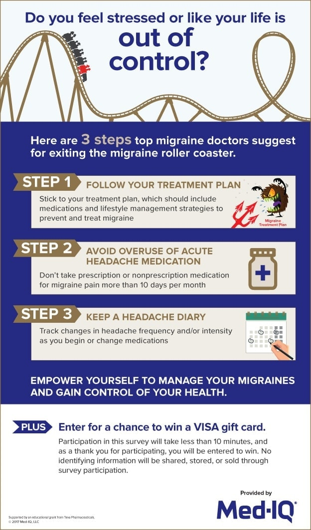 3 steps recommended by the top migraine doctors