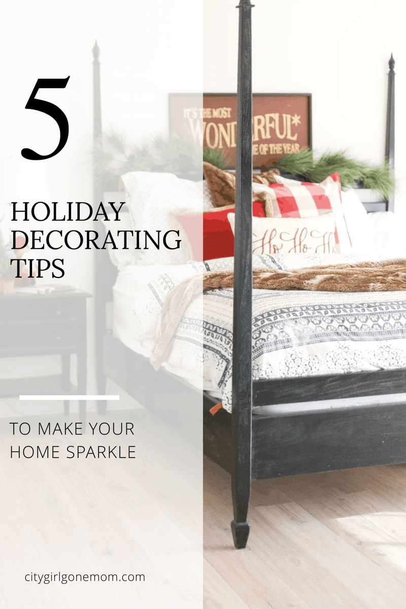 5 Holiday Decorating Tips