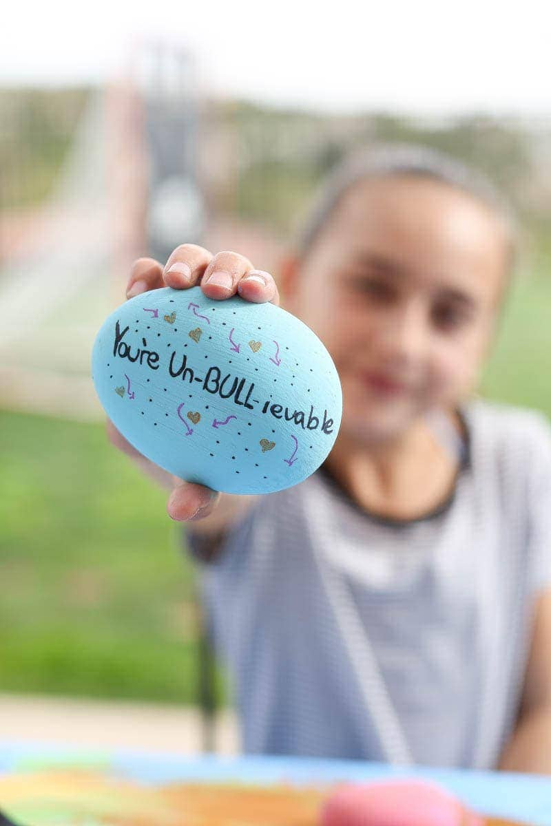 city girl gone mom and Ferdinand the kindness rocks project