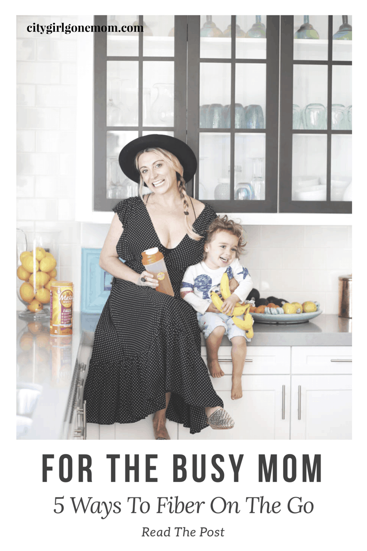 5 Ways To Fiber On The Go - Fpr the Busy Moms #citygirlgonemom #metamucil #fiber #fiberonthego