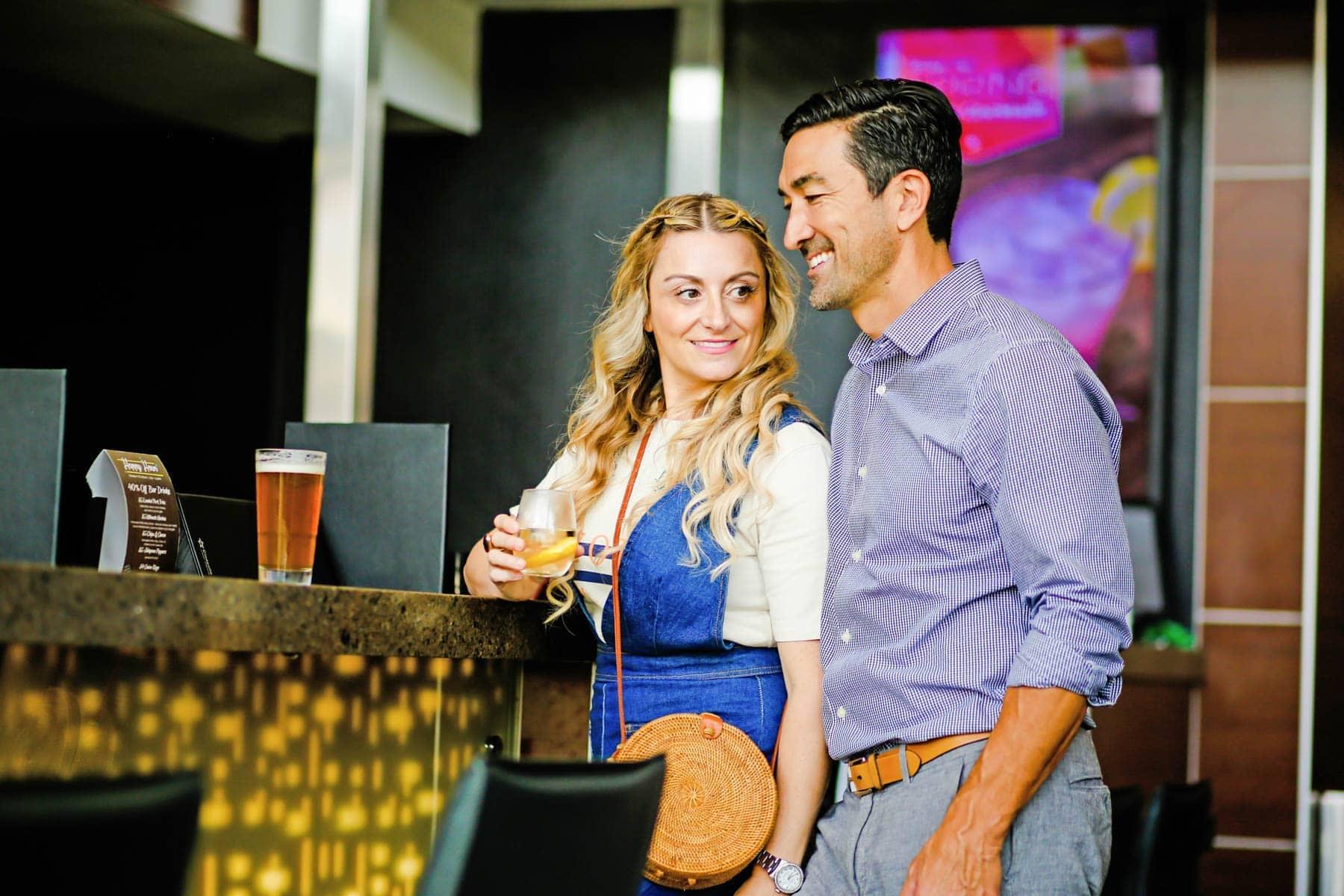 Couple Enjoying the Happy Hour #movienight #cinepolis #familybonding #familylove