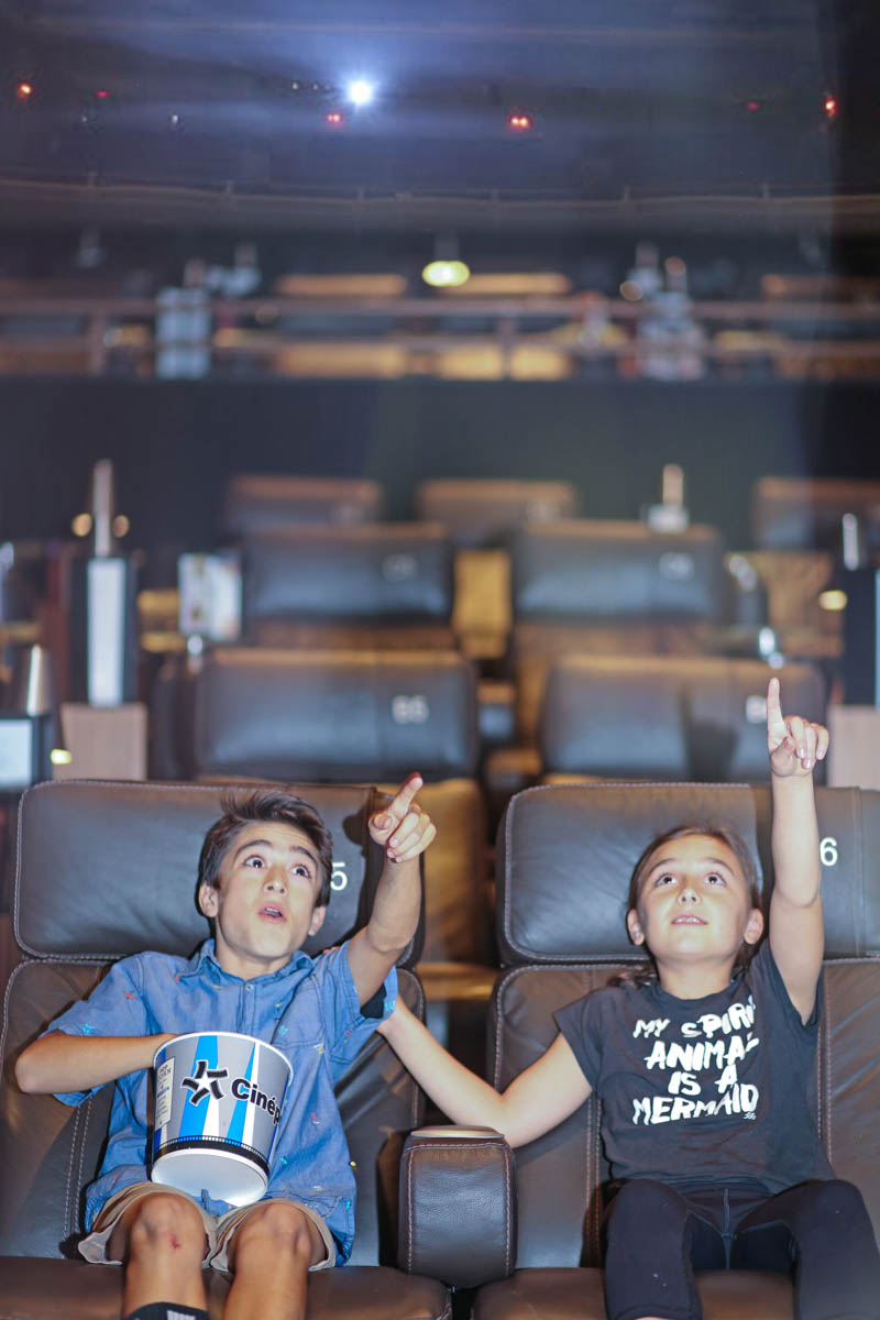 Kids Enjoying the Movie while eating popcorn #movienight #cinepolis #familybonding #familylove