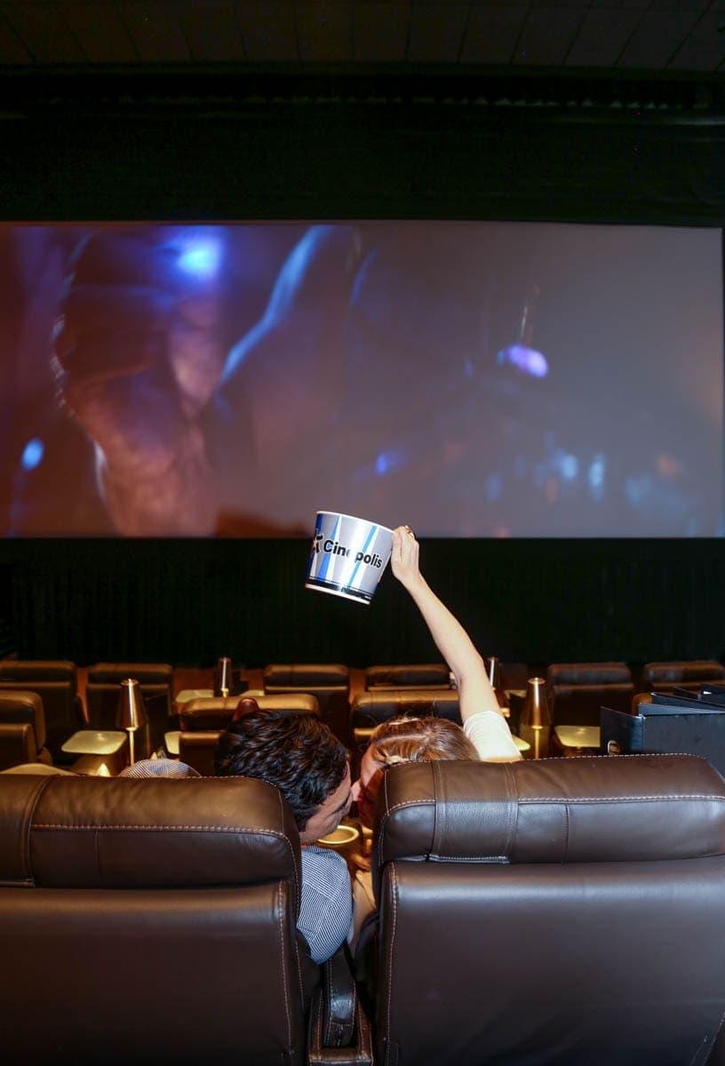 Sweet Couple Watching a Movie #movienight #cinepolis #familybonding #familylove
