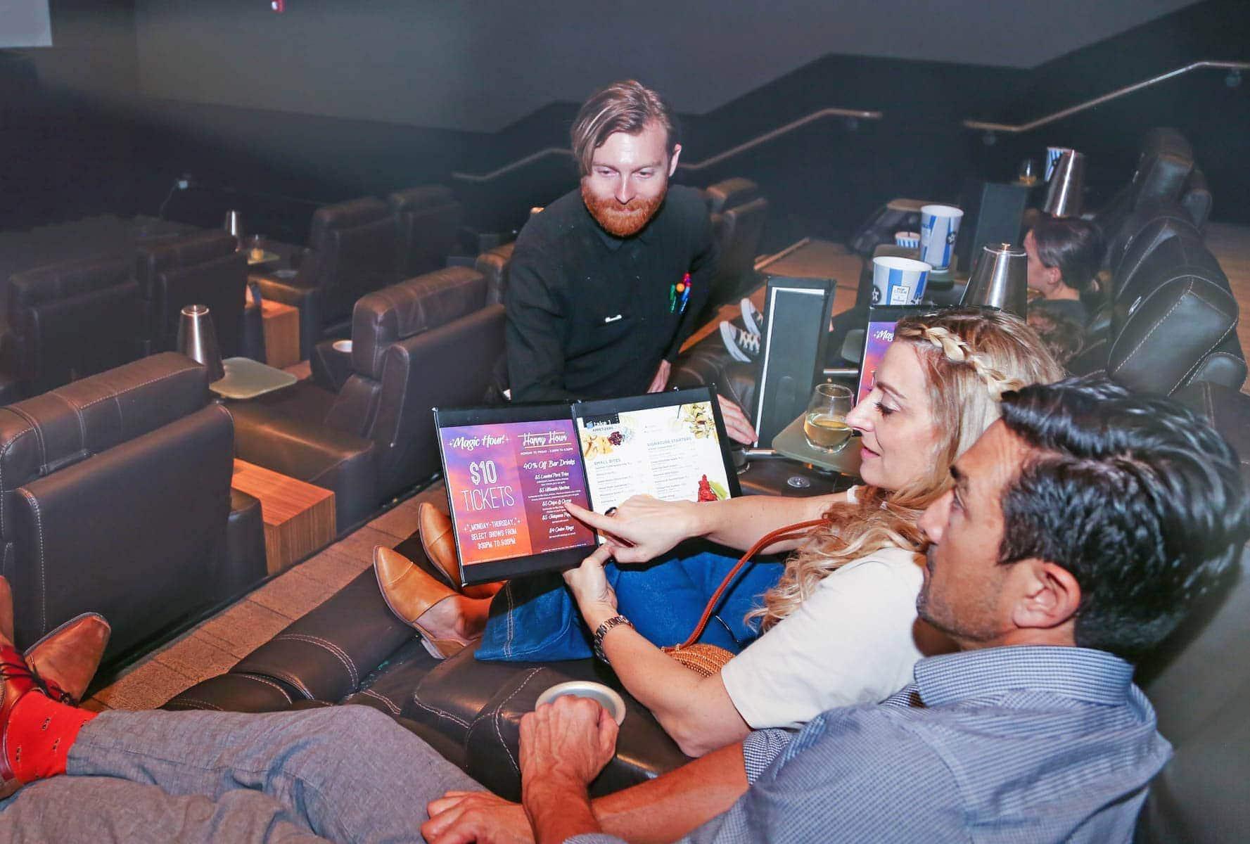 Couple Ordering food #movienight #cinepolis #familybonding #familylove
