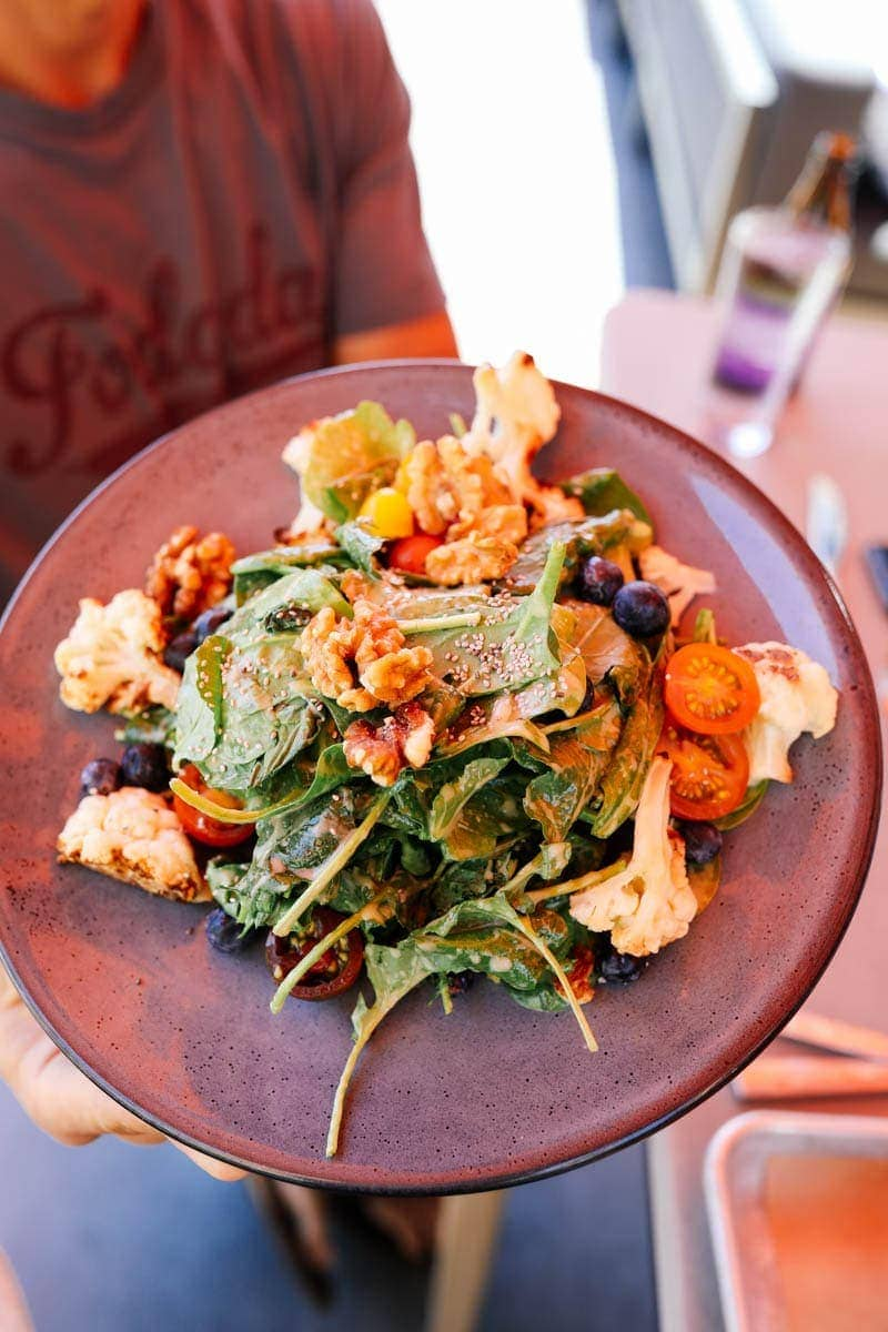 Healthy Salad #citygirlgonemom #hyattregency #lajollasandiego #lajolla