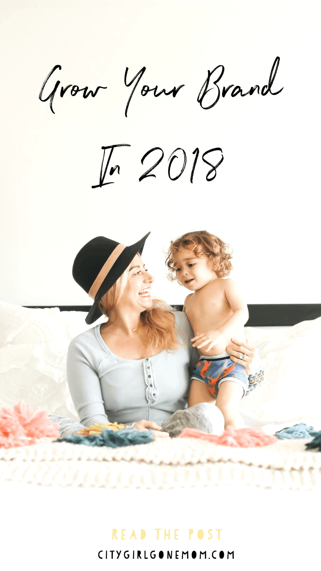 5 Things You Can Do For Your Blog in 2018 - Grow Your Brand in 2018 #citygirlgonemom #blogging #blog #growyourbrand2018