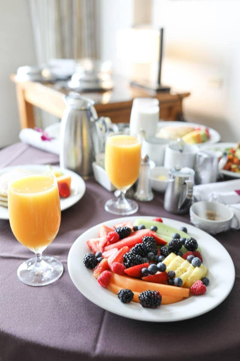 Delicious Healthy Fruits #citygirlgonemom #hyattregency #lajollasandiego #lajolla