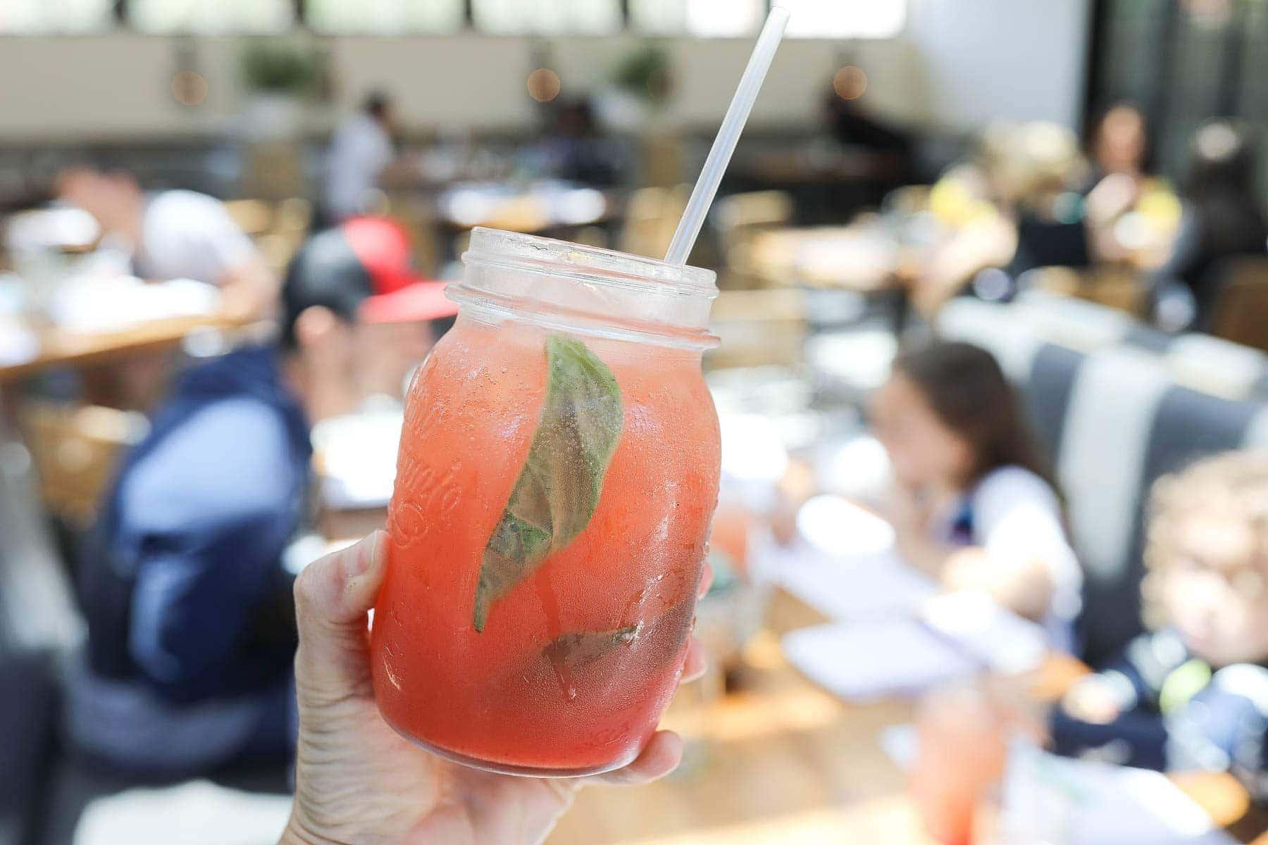 Fruit Juice in a Jar #familytravelsandiego #sandiego #fourseasonsresidenceclub #bigfamilytravel