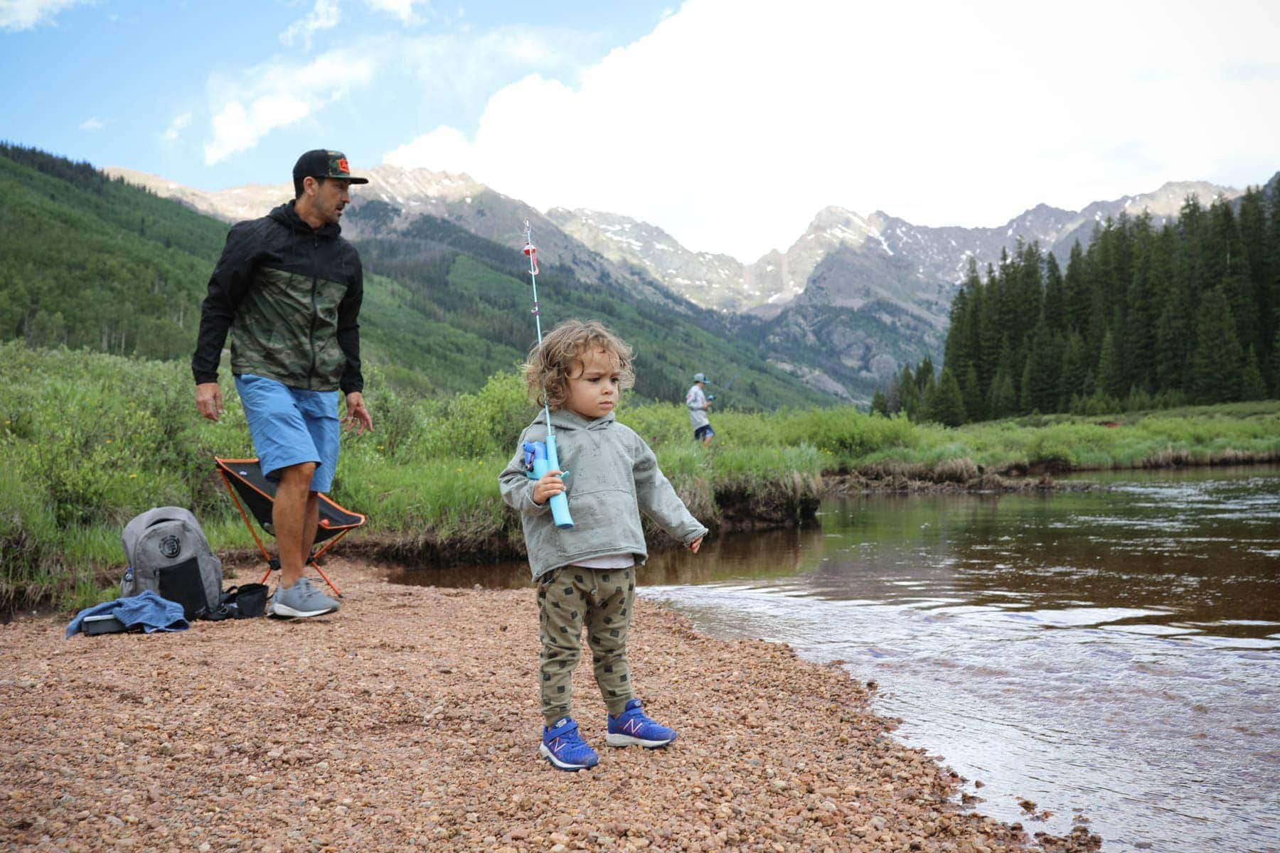 toddler fishing in new balance
