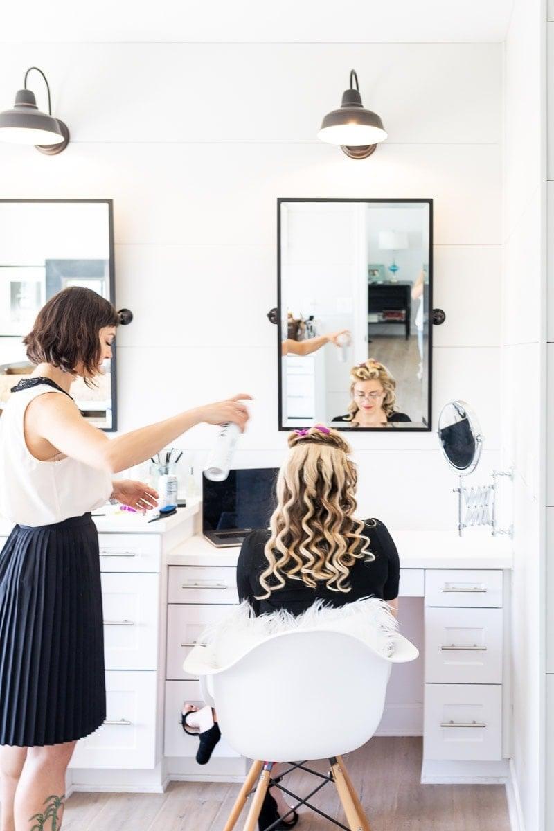 Step By Step Tutorial For Pin Up Hair- Vintage Waves #hairstyle #pinup #pinuphair #stepbysteppinuphair #vintagewaveshair