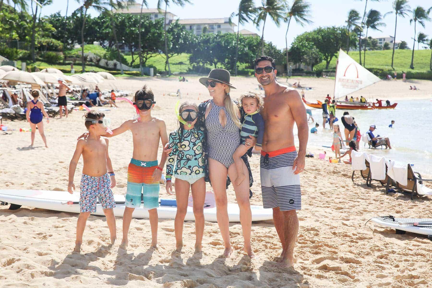 Happy Family on the Beach #kids #summertips #summerparentingtips #citygirlgonemom