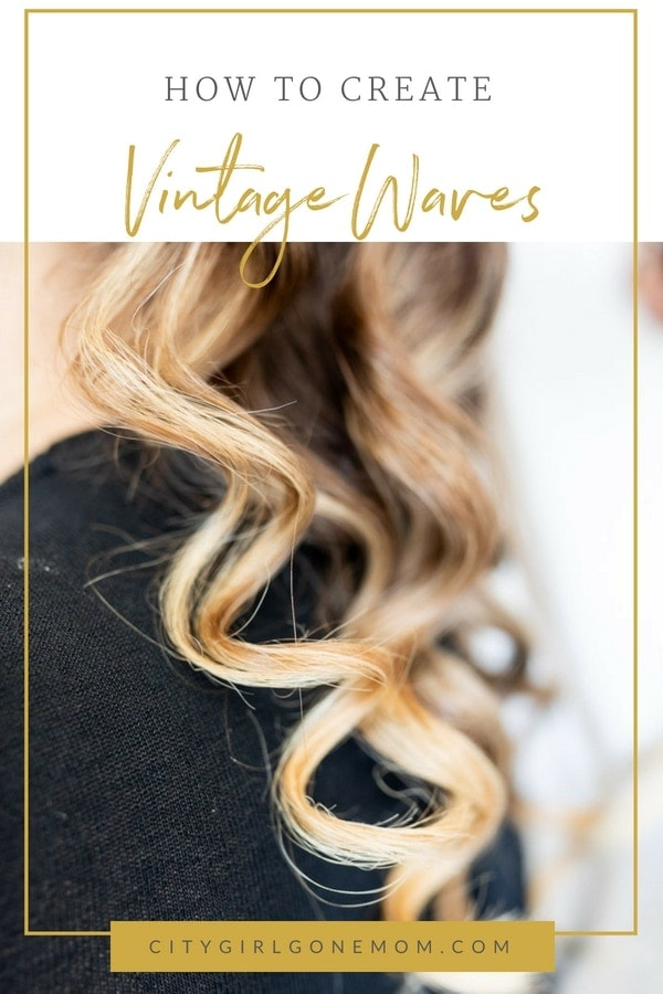 How to Crete a vintage pin-up wavy hair style #hairtutorial #hairstyle #pinuphair #stepbystephair #retrohair #easyhairstyle #longhairstyle