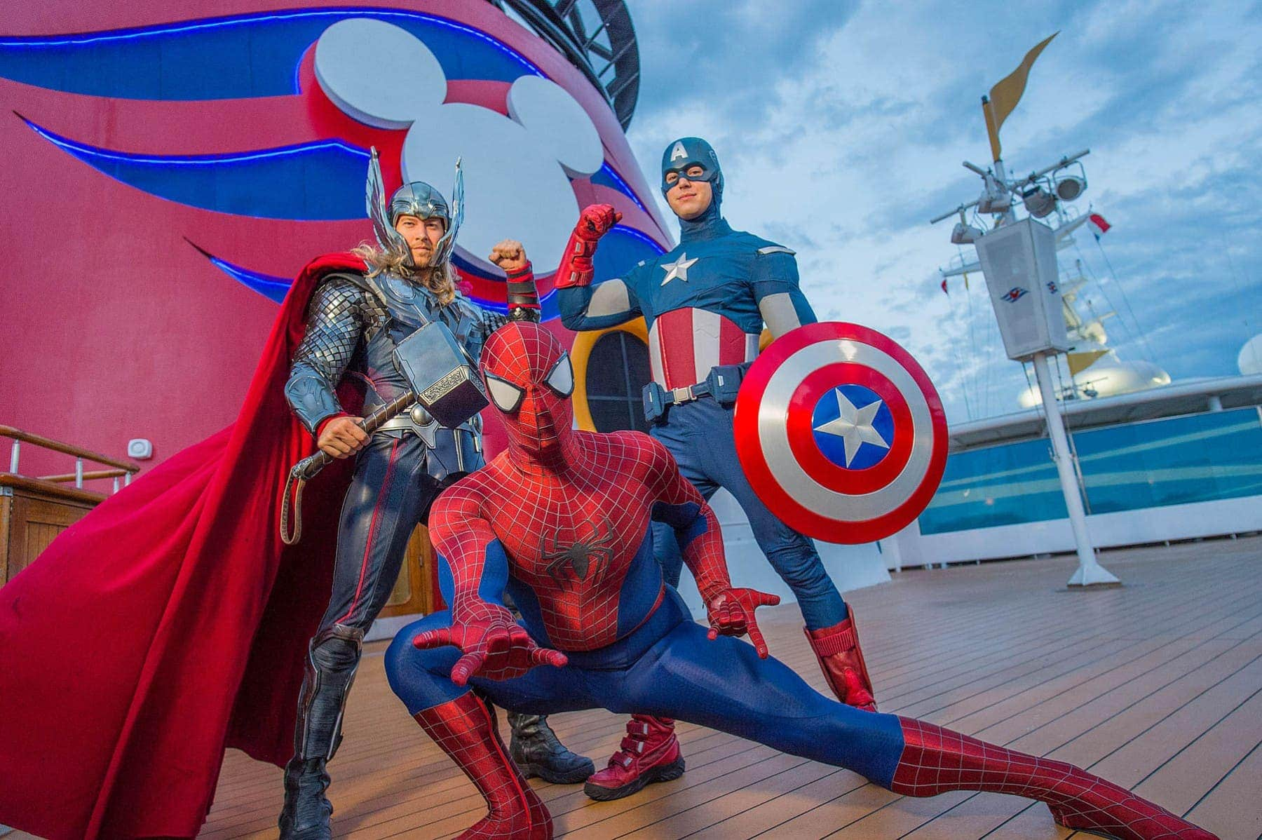 Marvel Characters At Sea