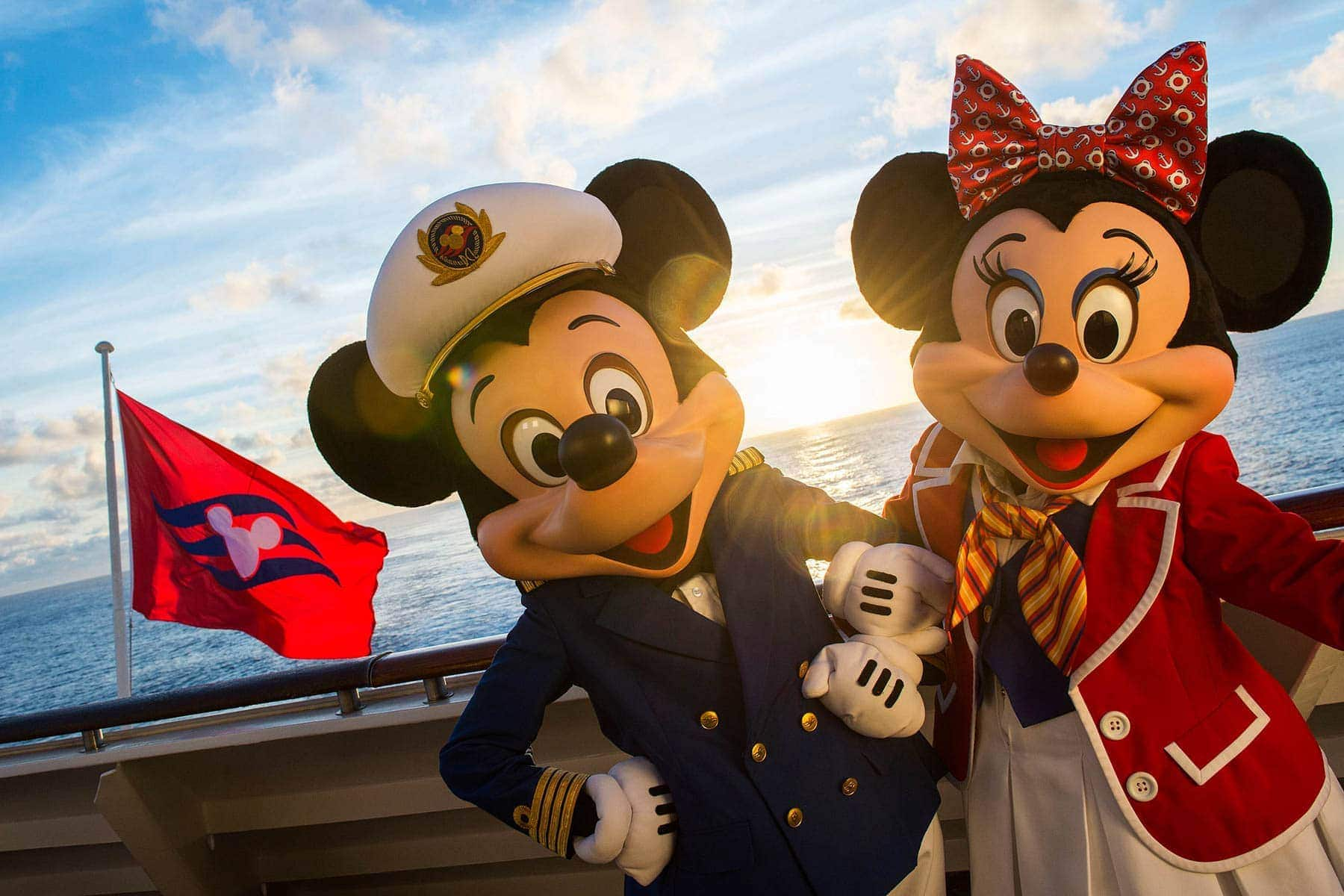 Mickey Mouse and Minnie Mouse Cruise