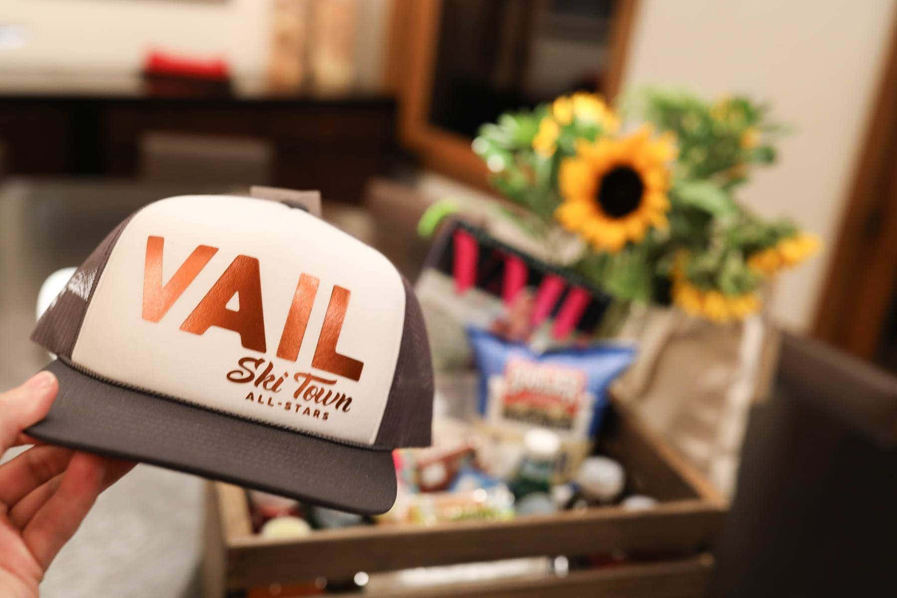 Vail Ski Town All-Stars Cap #summer #vailcolorado #vacation #citygirlgonemom