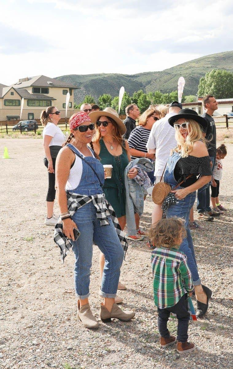 girls at beaver creek rodeo